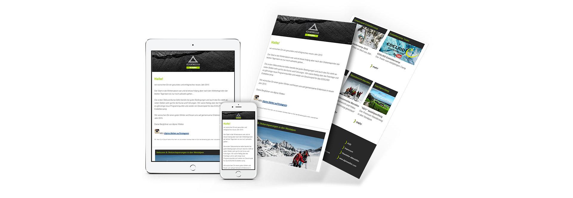 Bi Alpine Welten Newsletter