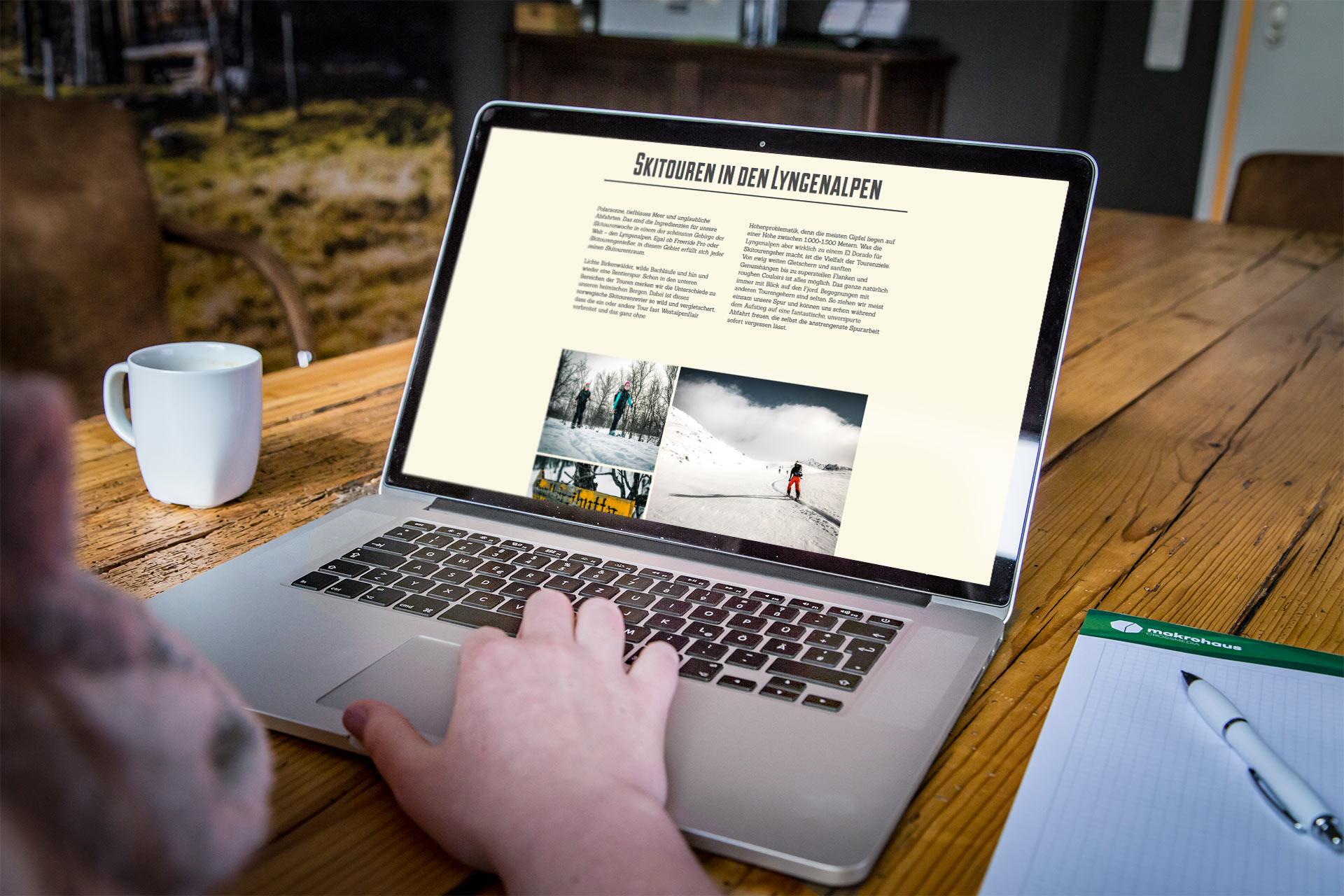 Bi Lyngen Laptop