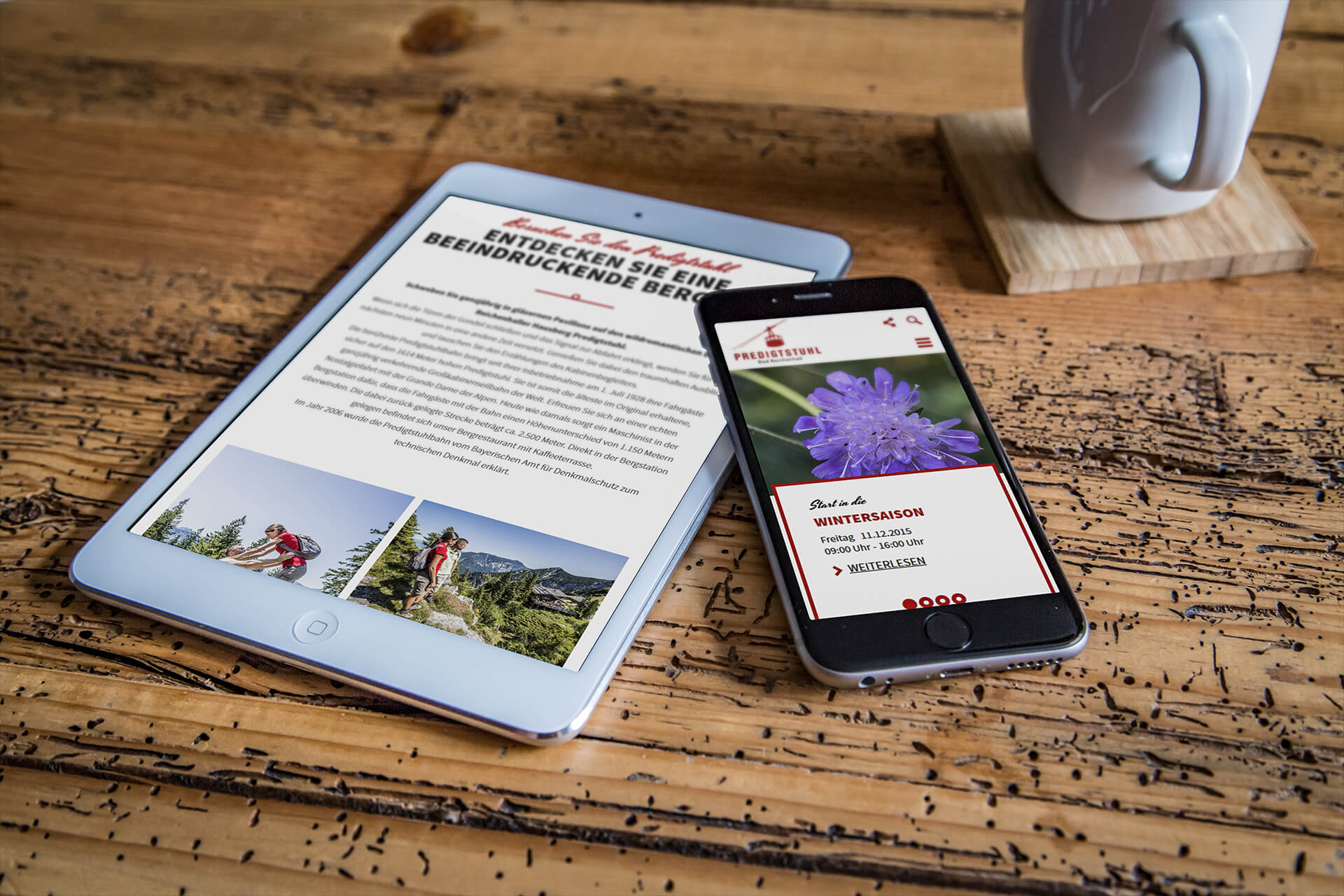 Bi Predigtstuhl Tablet Handy