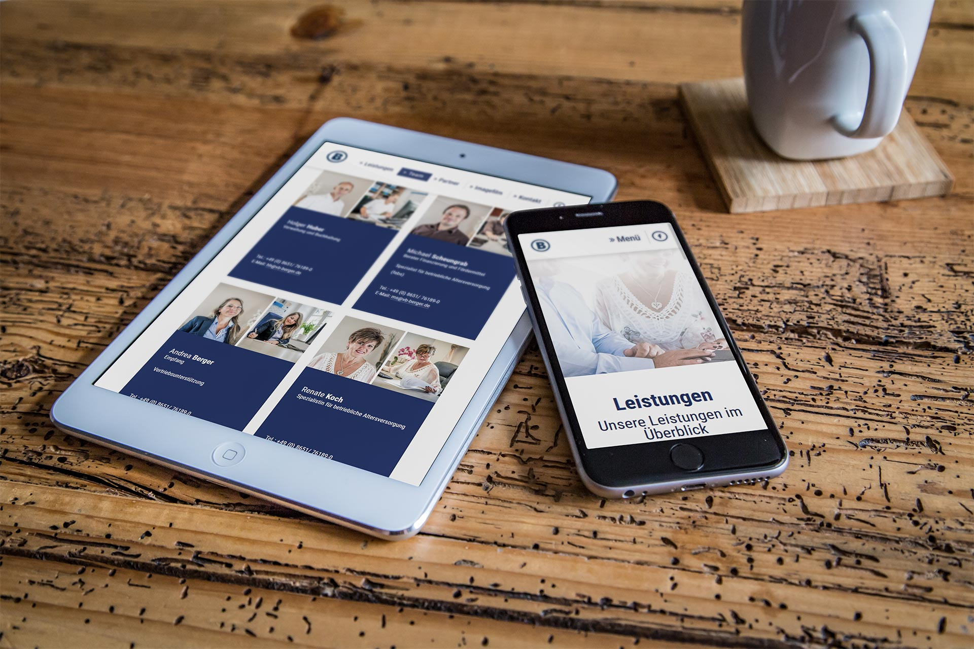 Berger Vorsorge Tablet Handy