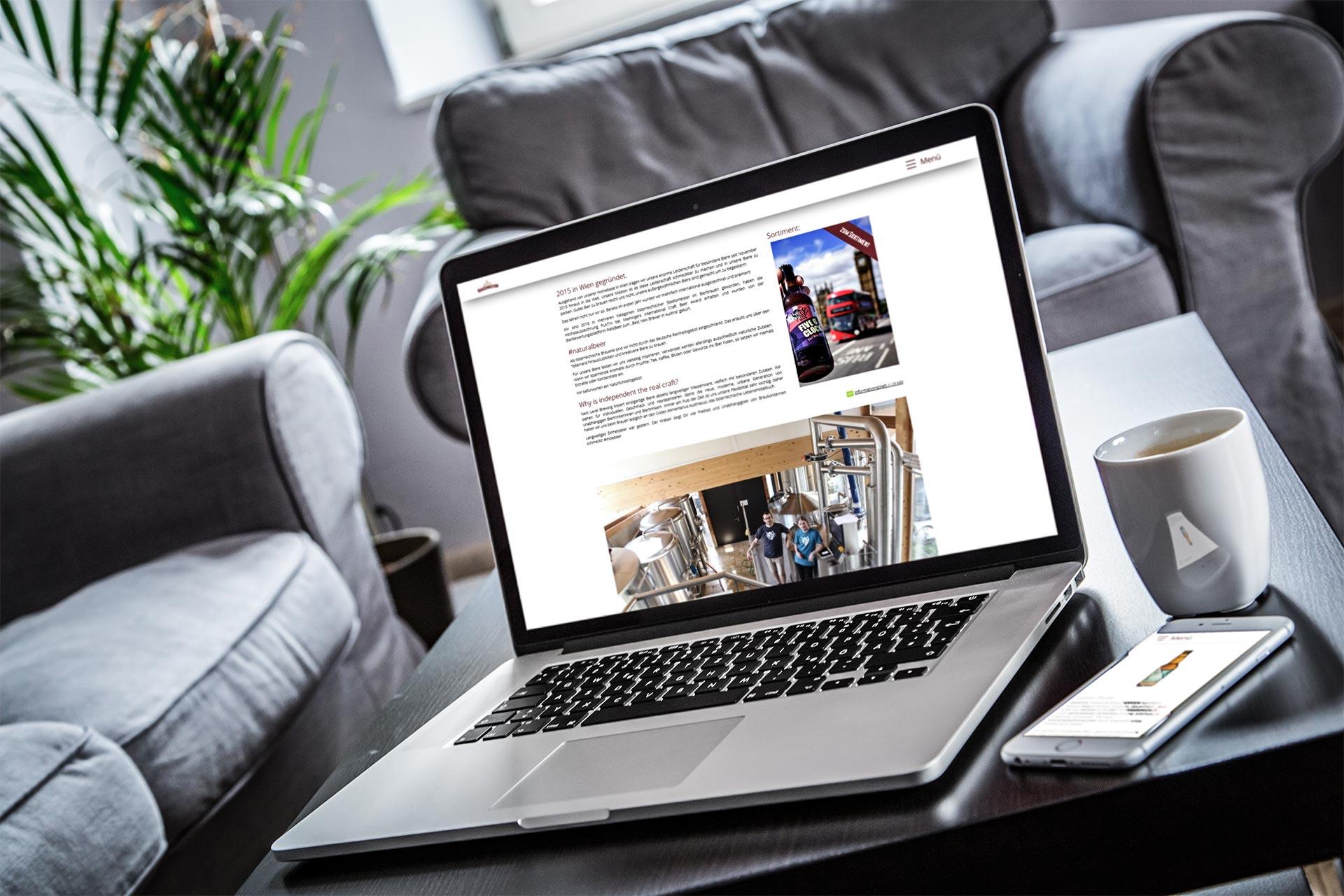 Bi Brau Connection Laptop Handy