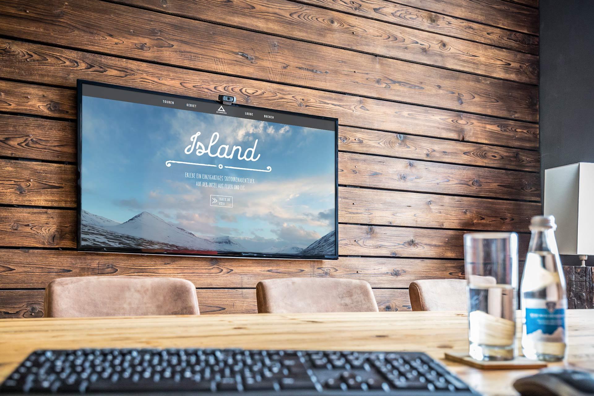 Bi Island Bildschirm