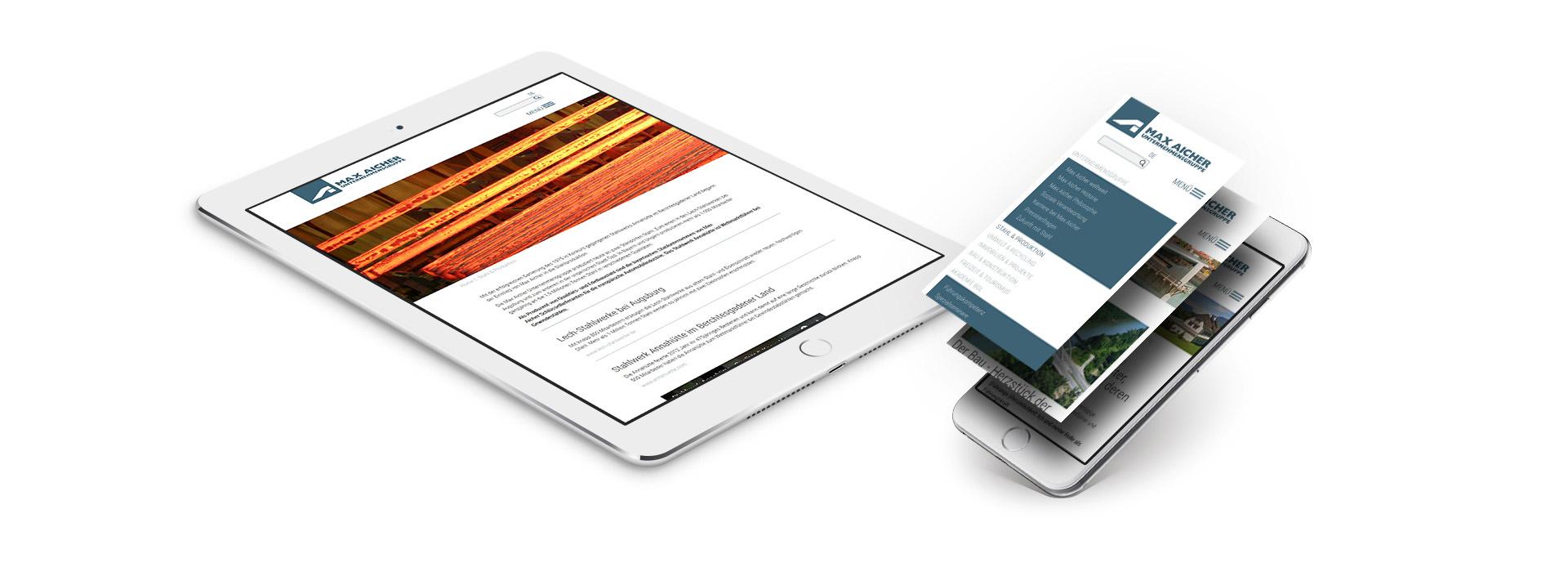 Bi Max Aicher Tablet Handy