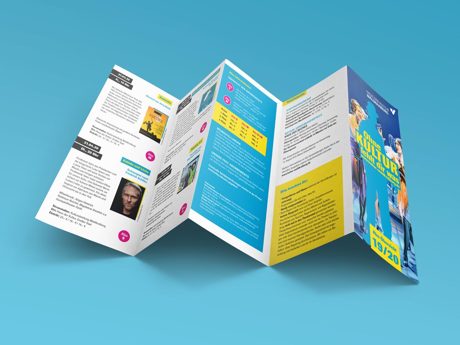 Free Five Panel Accordion Brochure Mockups 01