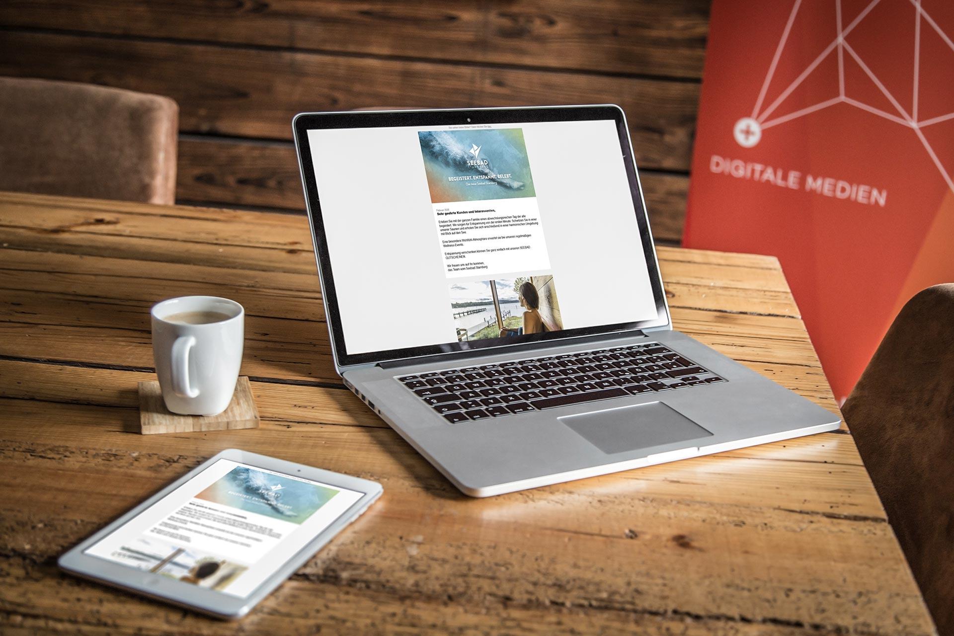 Mockup Laptop Tablet