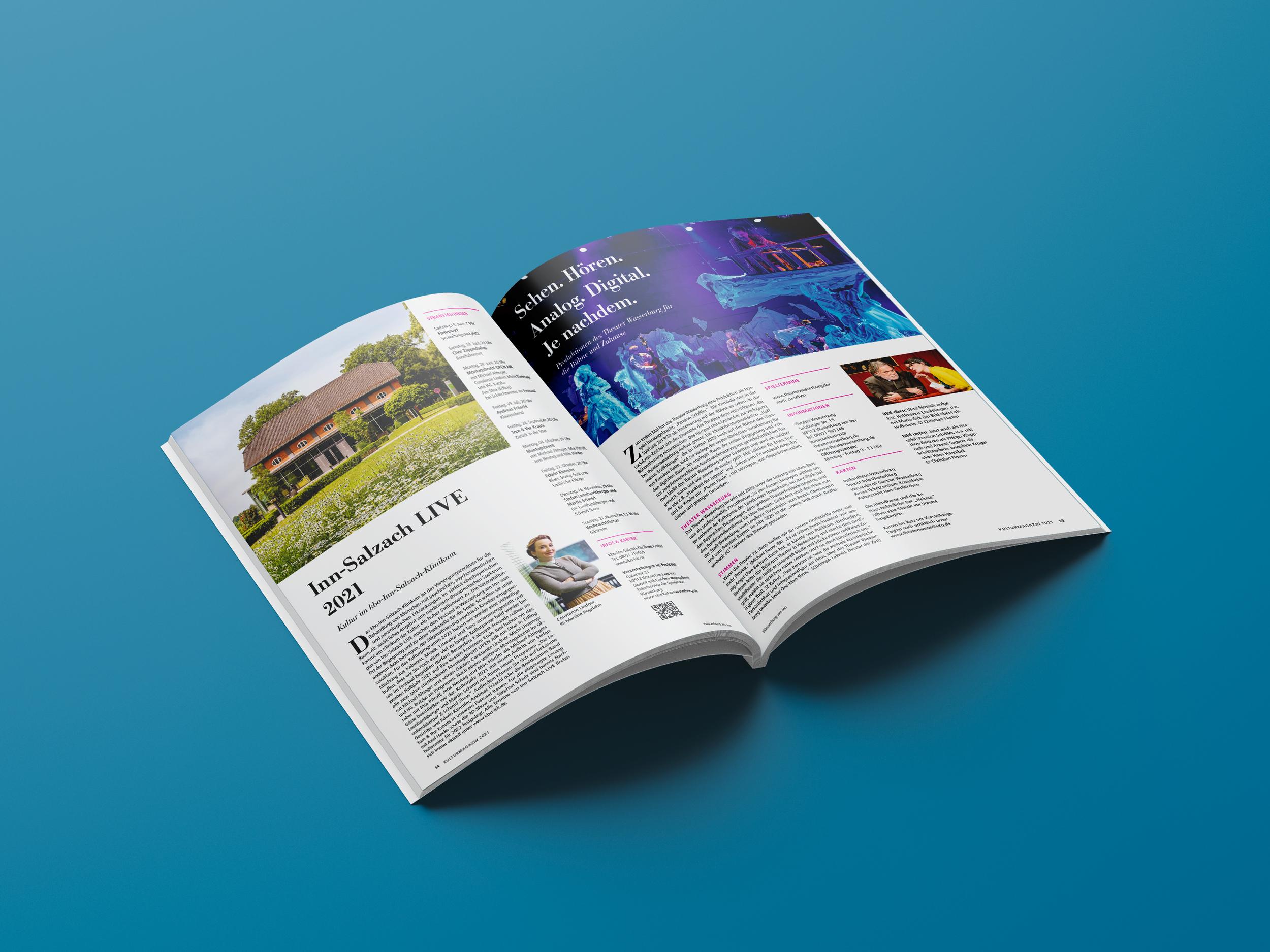Perfect Binding Brochure Mockup 1
