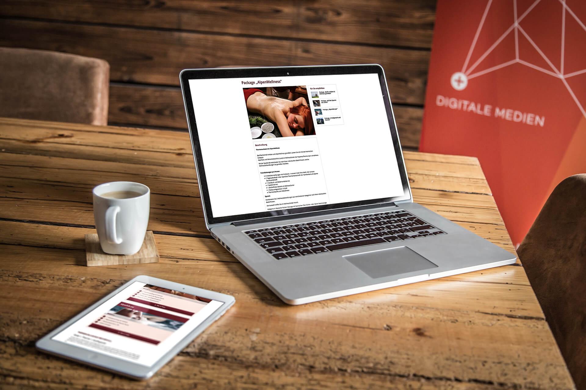 Rt Hotelpauschalen Laptop Tablet