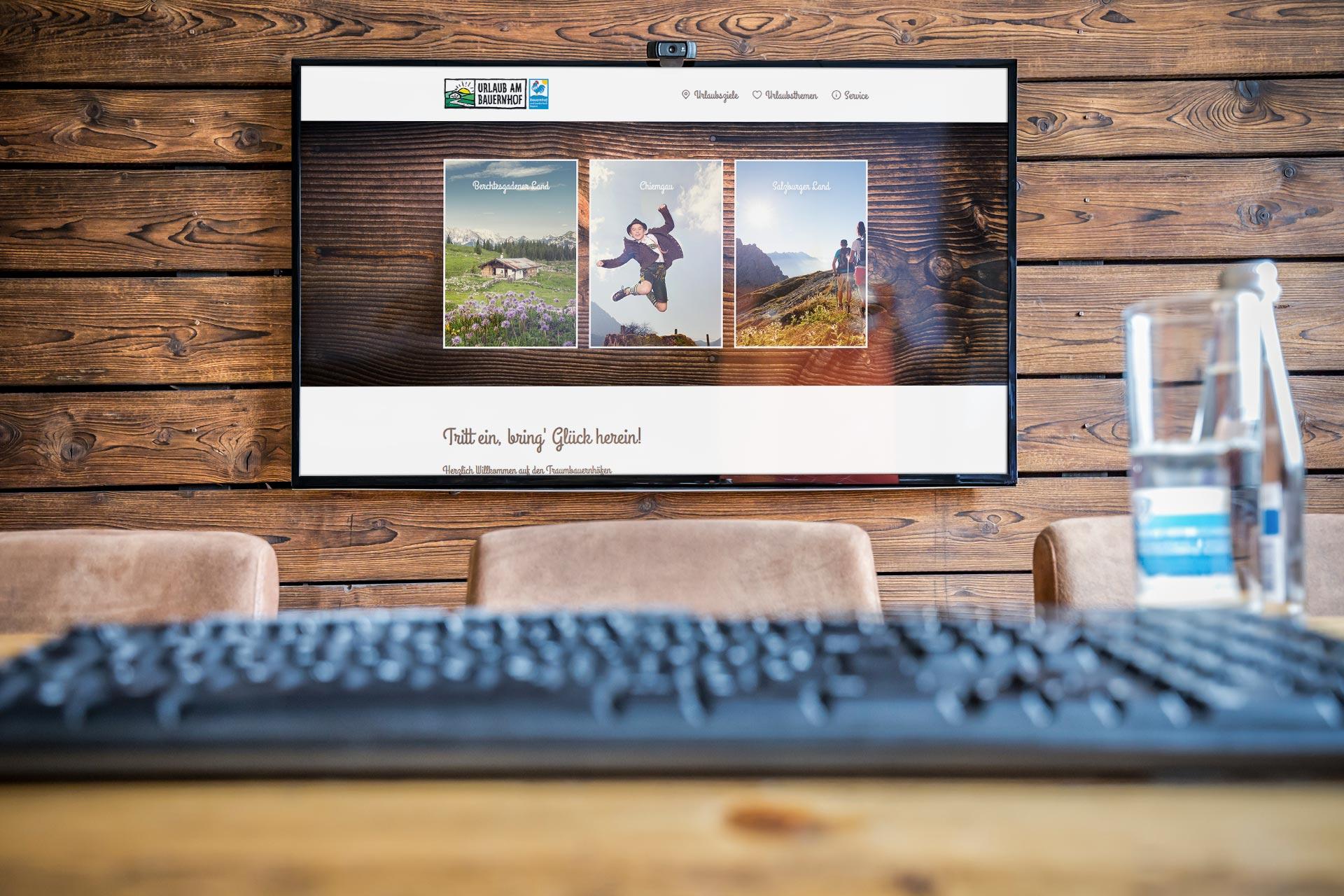 Traumbauernhof Bildschirm
