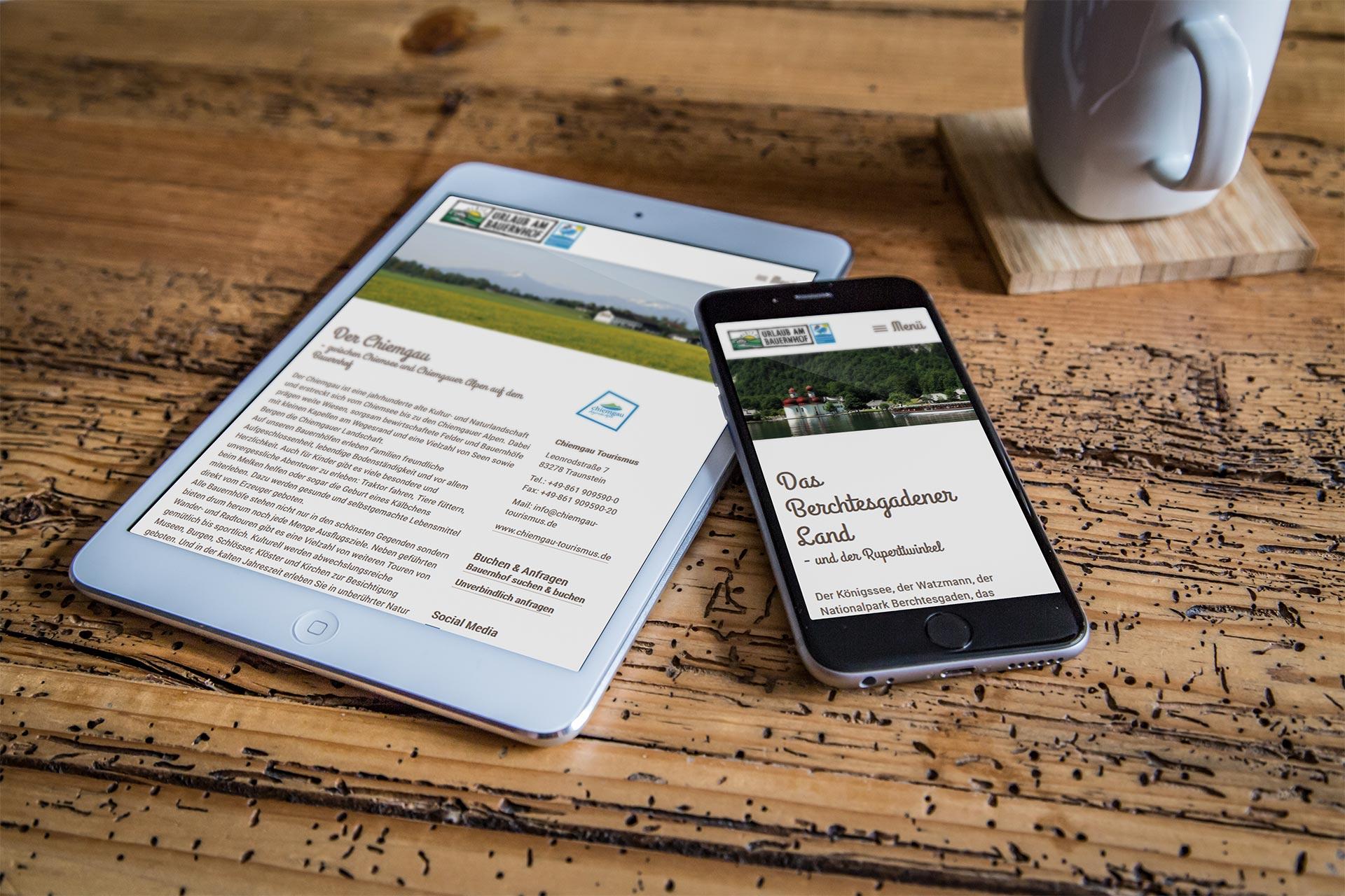 Traumbauernhof Tablet Handy